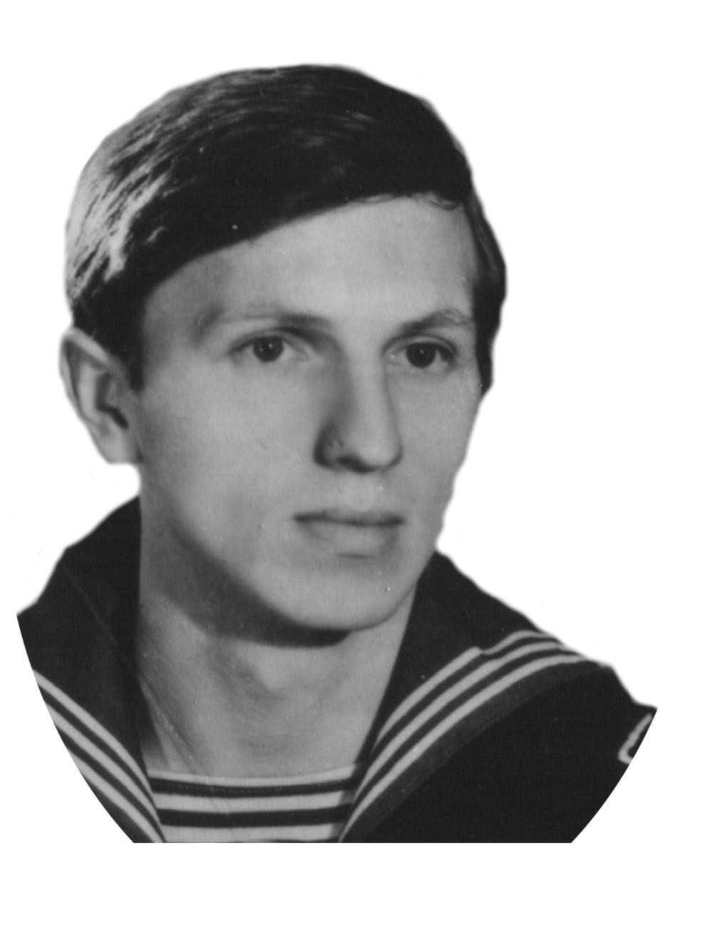 курсант Малов Валерий