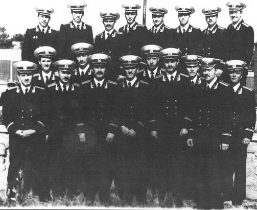 Молодые лейтенанты из 3-го взвода